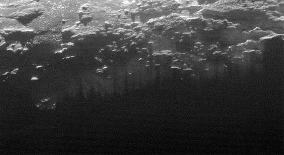 Fog on Pluto