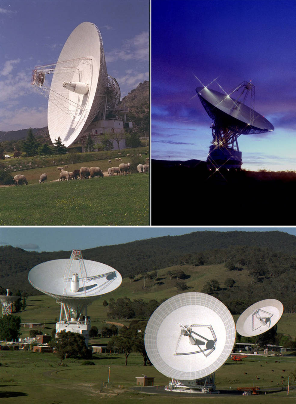 images of satellite dishes