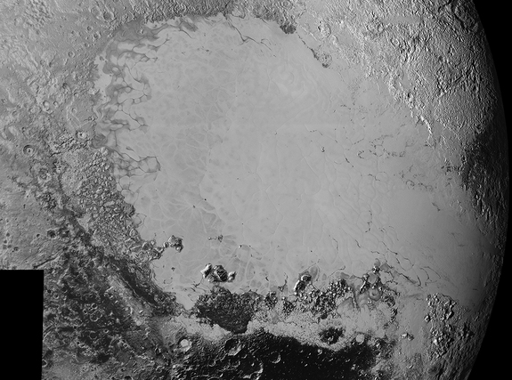 Surface Features on Pluto