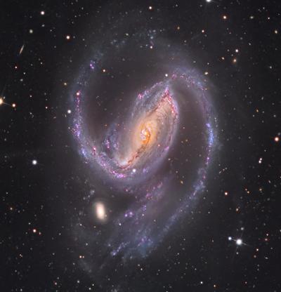 Seyfert Galaxy NGC 1097