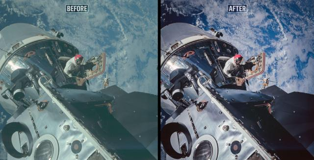 NASA Apollo retouch