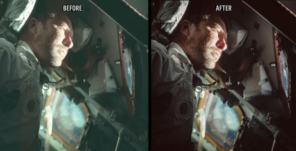 NASA Apollo Retouch 2