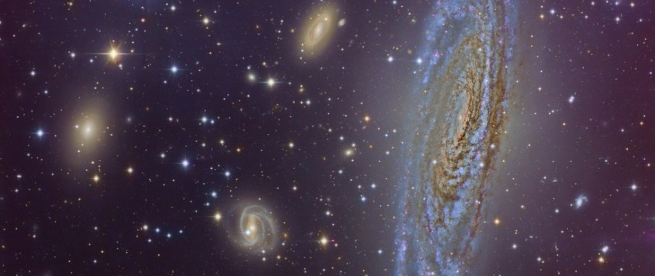 Quantum Blips Triggered The Formation Of Galaxies Stars Planets