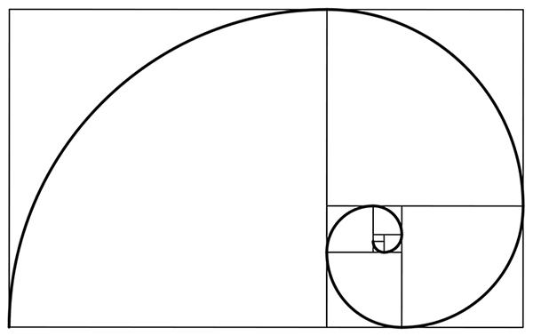 golden ratio spiral