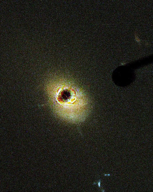 One of the first quasars detected.